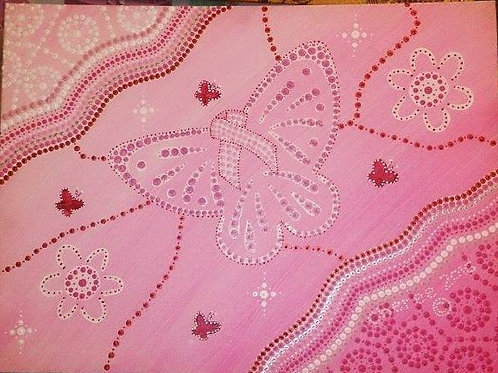 2016 Breast Cancer Tribute Painting