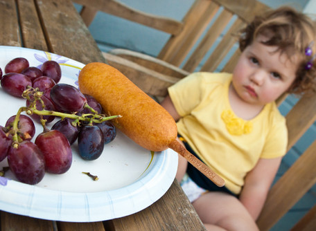 Surviving mealtimes with a picky eater