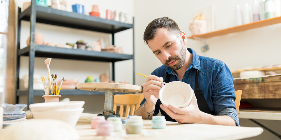 """""""Remember Me"""" Workshop- Magical Memory Pottery"""
