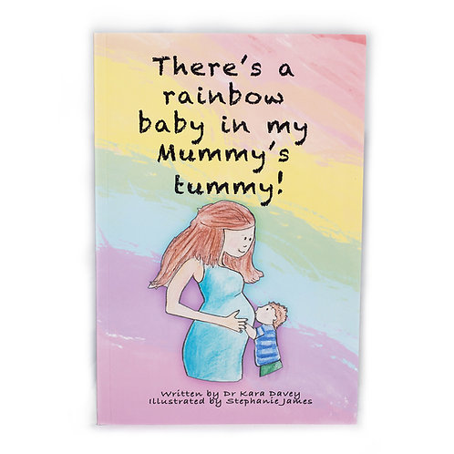 There's a Rainbow in My Mummy's Tummy! Book