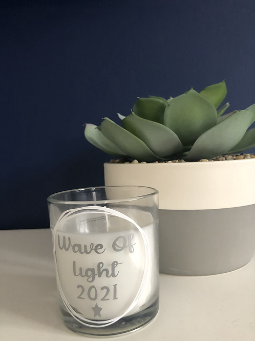 Wave of Light Candle 2021