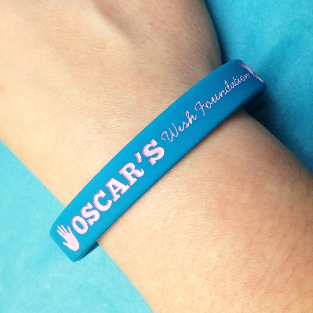 Oscar's Wish Charity Wristband