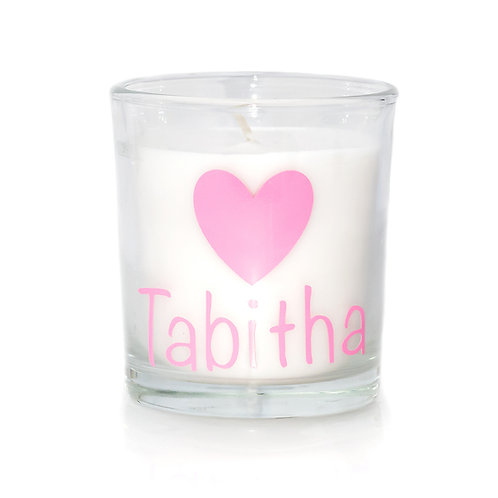OWF Personalised Candle