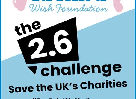 The 2.6 Challenge - Save the UK's Charities