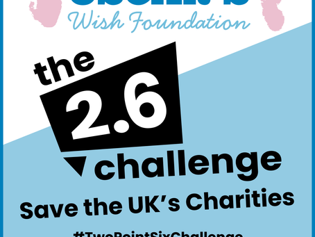 The 2.6 Challenge - Save the UK's Charities