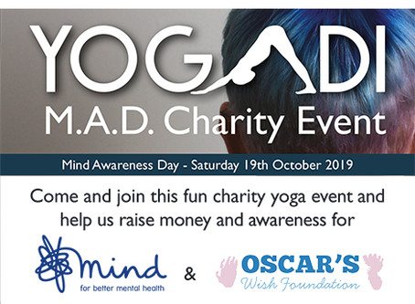 M.A.D. Yoga Charity Event