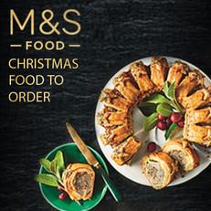 M&S Xmas Food to Order