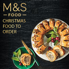 M&S Xmas Food to Order