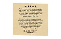 Positive Review - Robbie Sykes