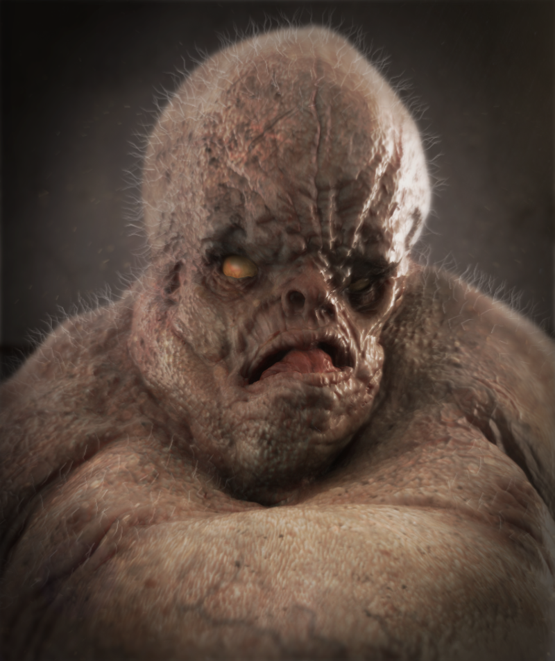 Zombie Ogre by Josh Crocket