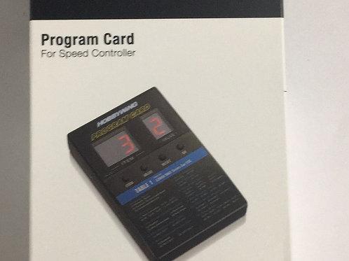 HW ESC Program Card