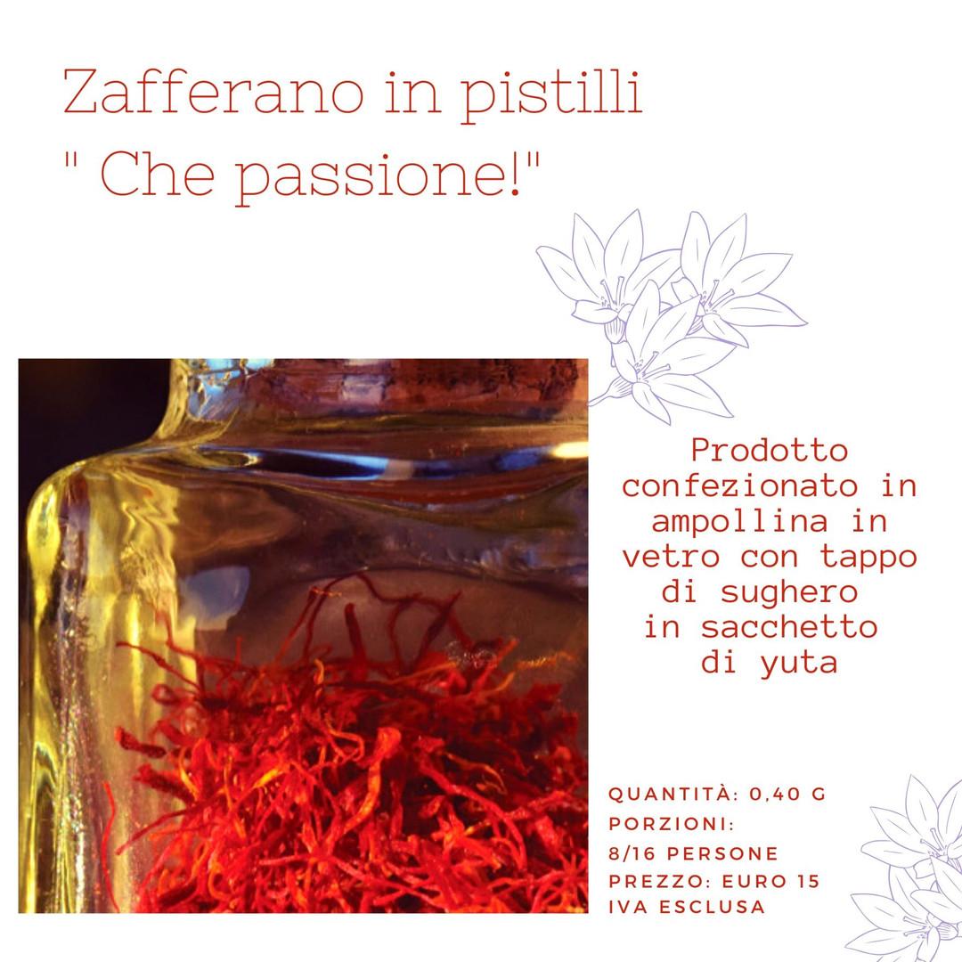 0,40 g. zafferano