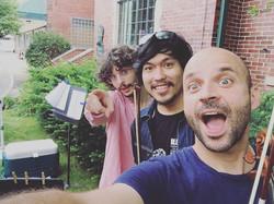 Antoine, Volt, Pascal! Aha! #csw #creativestringsworkshop