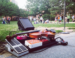 Concert in the park with Anchor Friendsss _D So fun! To see a lot of kids dancing!! #violin #violini