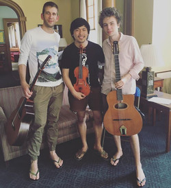 Sébastien Giniaux, Antoine Boyer! My pleasure to met and jam with you guys, your sound is amazing! I