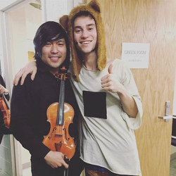 What a great show with this guy! _jcolliermusic Thank you Jacob Collier who's inspiring me a lot in