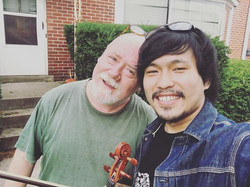 With Paul Brown ! The great guitarist and composer! #creativestringsworkshop2016