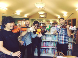 Today gig We have special guests!! #puppet #violin #violinist #puppetmaster