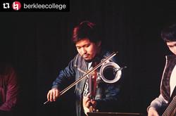 Microtonal Groove Ensemble at Berklee la
