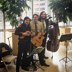 What a great time with this amazing human being!! _The International String Trio_ by Slava, Max! My
