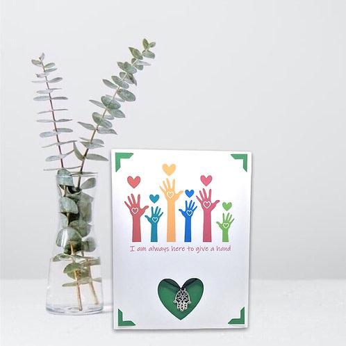 Wish Card ~ Always here 🤚
