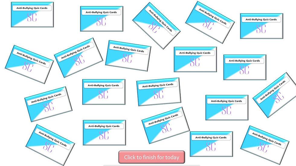 Interactive Digital Anti-Bullying Quiz Cards
