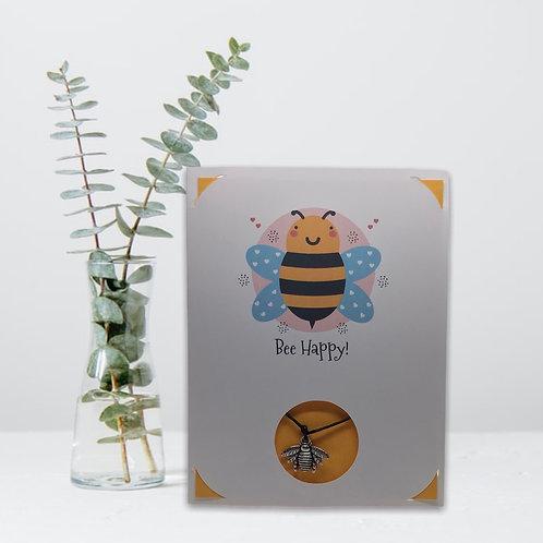 Wish Card ~ Bee Happy 🐝