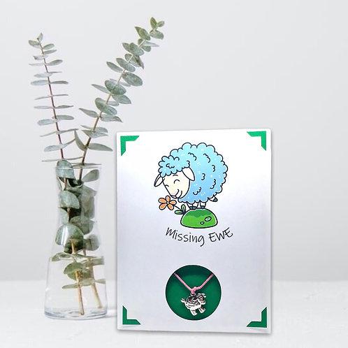Wish Card ~ Missing Ewe 🐑
