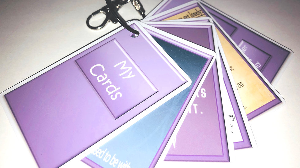 10 Positive Affirmations  Cards