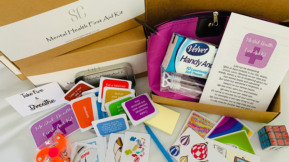 Sponsor a Mental Health First Aid Kit
