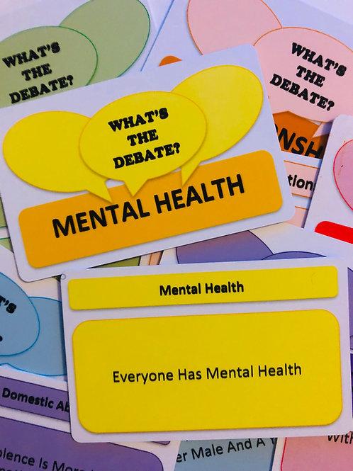 What's The Debate-Mental Health