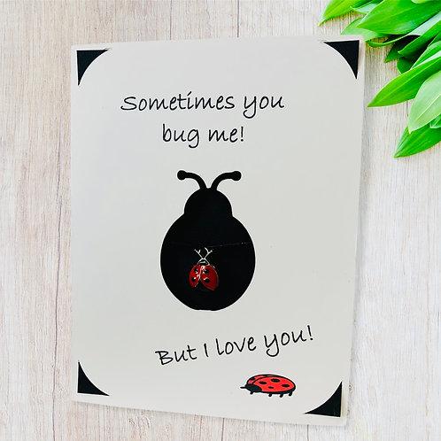 Wish Card ~ ladybug 🐞