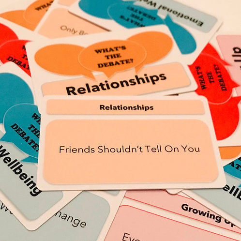 What's The Debate? - Relationships