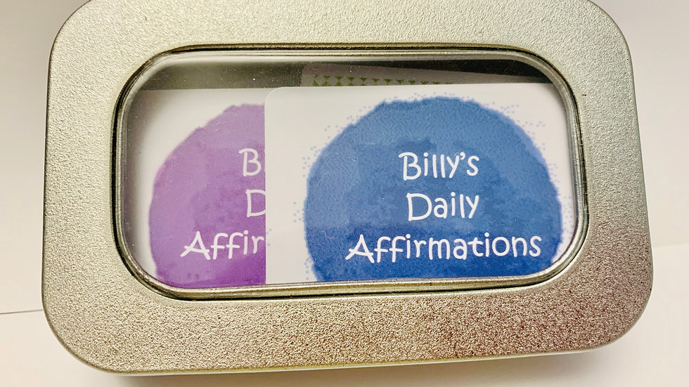 Little Tin of 'I AM' Daily Affirmations