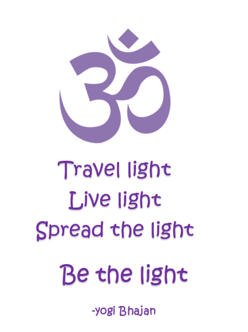 Be the light ~ Wishcard 🧘🏼‍♂️