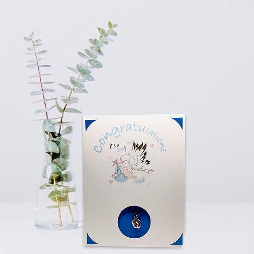 Wish Card ~ Baby Boy 🦶