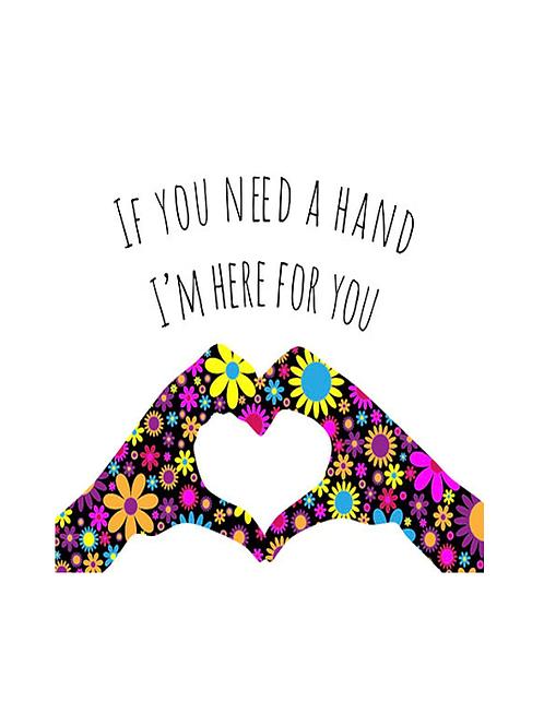 If you need a hand ~ Wishcard 🖐🏻