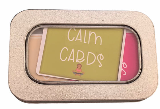 Little Tin of Calm Cards