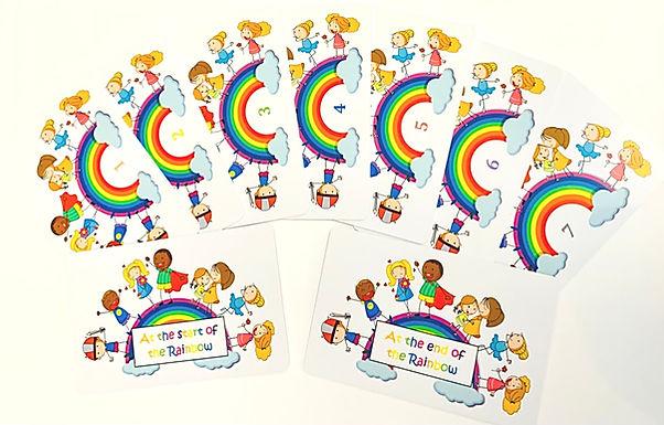 Rainbow Meditation Cards
