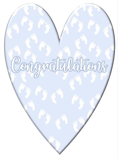 Baby congratulations ~ feet 👣