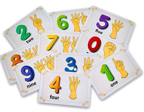Number Cards 0 - 10