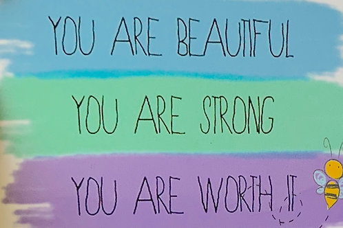 You're worth it ~ Gift card
