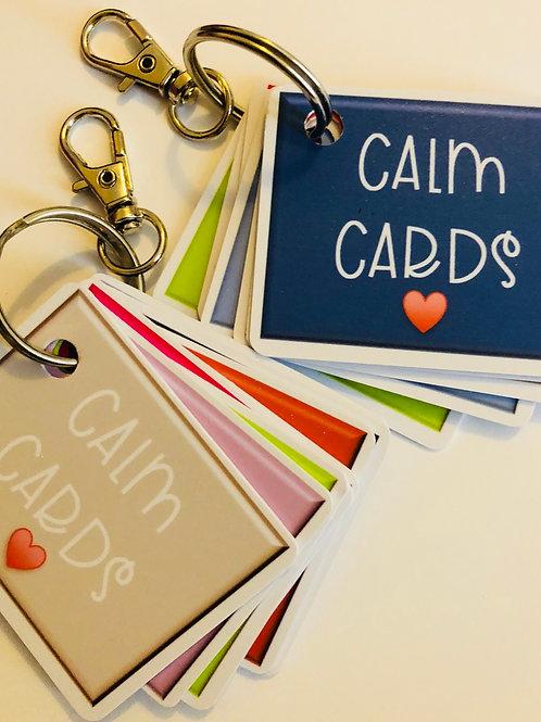 Calm Cards key fob ❤️