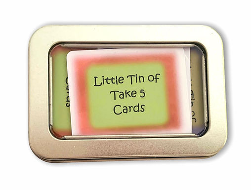 Little Tin of ~ Take 5 cards