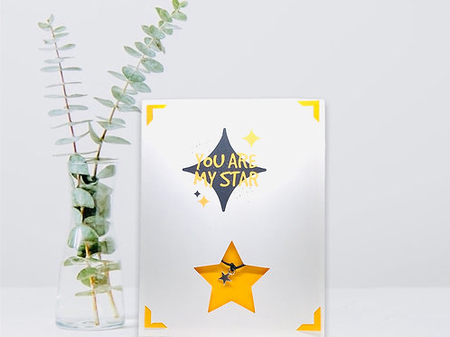 Wish Card ~ You are my Star ⭐️