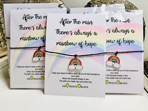 Wish Bracelet ~ Rainbow 🌈