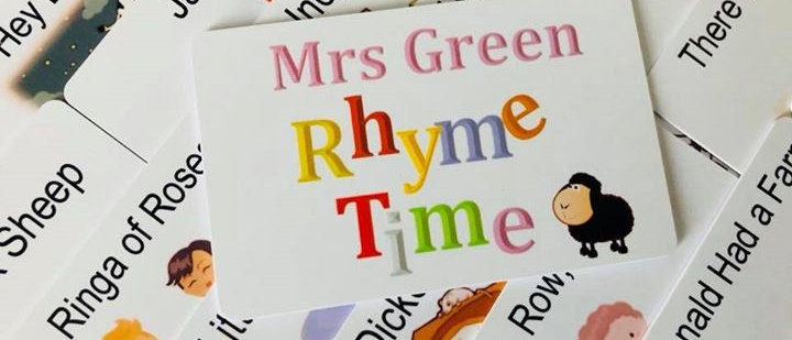 Rhyme Time Cards