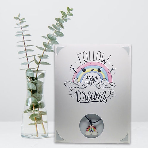 Wish Card ~ Follow your dreams 🌈