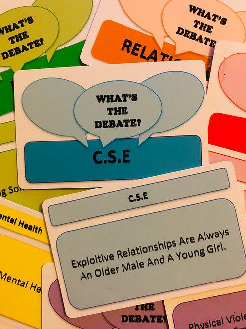 What's The Debate C.S.E