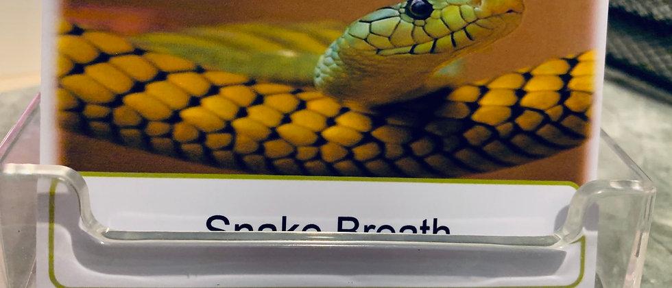 Animal Breath Cards & Fob ( photo version)
